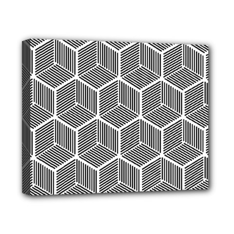 Cube Pattern Cube Seamless Repeat Canvas 10  X 8