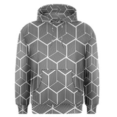 Cube Pattern Cube Seamless Repeat Men s Pullover Hoodie