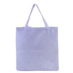 Zigzag Chevron Thin Pattern Grocery Tote Bag