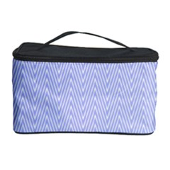 Zigzag Chevron Thin Pattern Cosmetic Storage Case