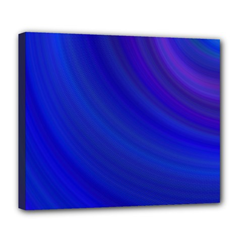 Blue Background Abstract Blue Deluxe Canvas 24  X 20