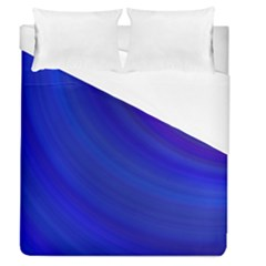 Blue Background Abstract Blue Duvet Cover (queen Size)