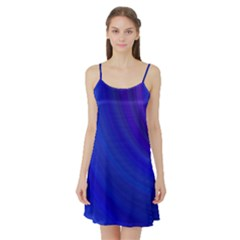 Blue Background Abstract Blue Satin Night Slip