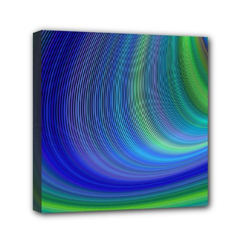 Space Design Abstract Sky Storm Mini Canvas 6  X 6