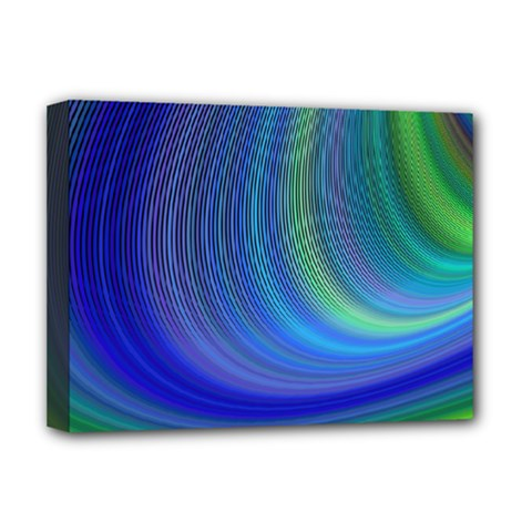 Space Design Abstract Sky Storm Deluxe Canvas 16  X 12