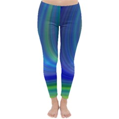 Space Design Abstract Sky Storm Classic Winter Leggings