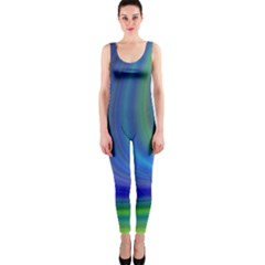 Space Design Abstract Sky Storm Onepiece Catsuit