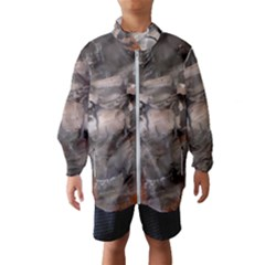 Fireplace Flame Burn Firewood Wind Breaker (kids)