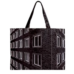 Graphics House Brick Brick Wall Zipper Mini Tote Bag