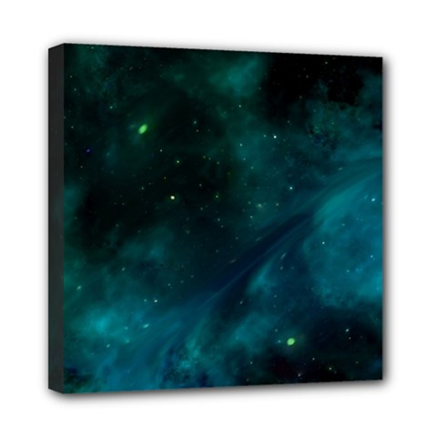 Space All Universe Cosmos Galaxy Mini Canvas 8  X 8