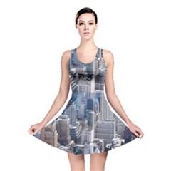 Manhattan New York City Reversible Skater Dress
