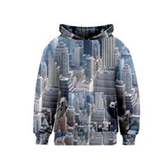 Manhattan New York City Kids  Pullover Hoodie