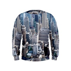 Manhattan New York City Kids  Sweatshirt