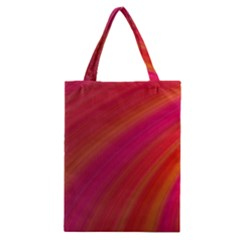 Abstract Red Background Fractal Classic Tote Bag