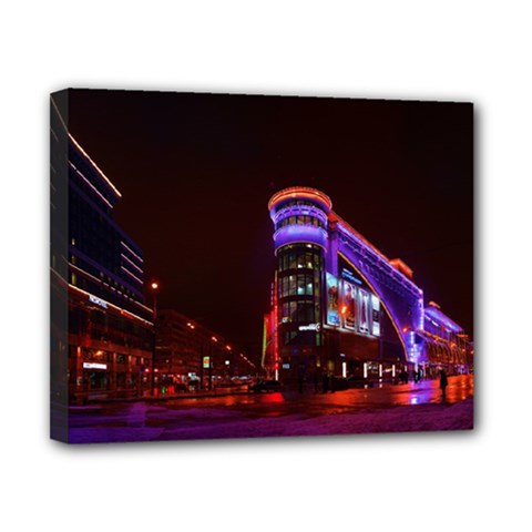 Moscow Night Lights Evening City Canvas 10  X 8