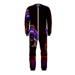 Moscow Night Lights Evening City Onepiece Jumpsuit (kids)