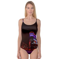 Moscow Night Lights Evening City Camisole Leotard