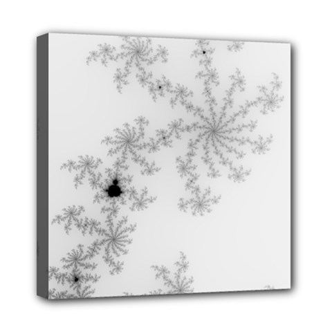 Mandelbrot Apple Males Mathematics Mini Canvas 8  X 8