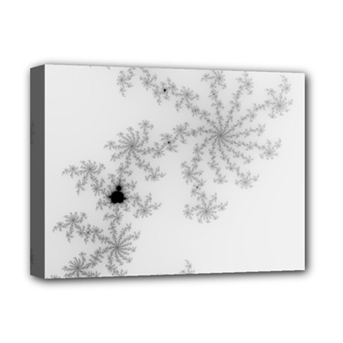 Mandelbrot Apple Males Mathematics Deluxe Canvas 16  X 12