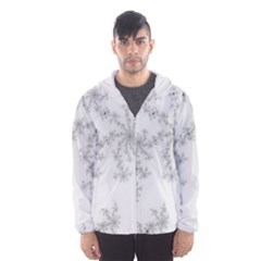 Mandelbrot Apple Males Mathematics Hooded Wind Breaker (men)