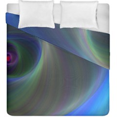 Gloom Background Abstract Dim Duvet Cover Double Side (king Size)