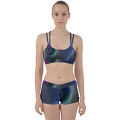 Gloom Background Abstract Dim Women s Sports Set