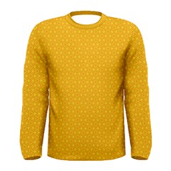 Texture Background Pattern Men s Long Sleeve Tee