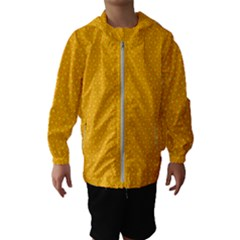 Texture Background Pattern Hooded Wind Breaker (kids)