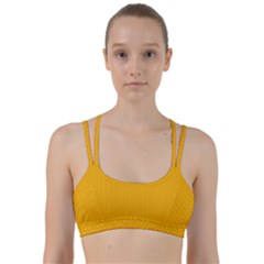 Texture Background Pattern Line Them Up Sports Bra