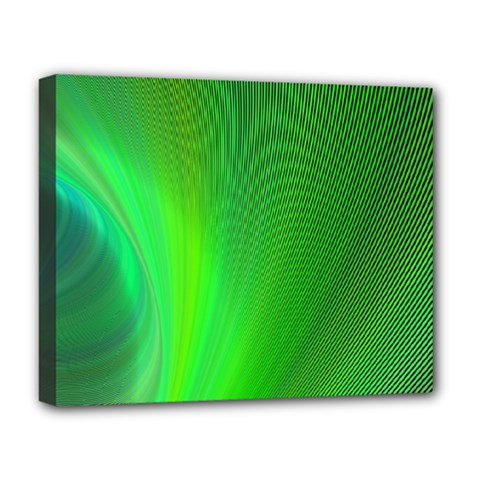 Green Background Abstract Color Deluxe Canvas 20  X 16