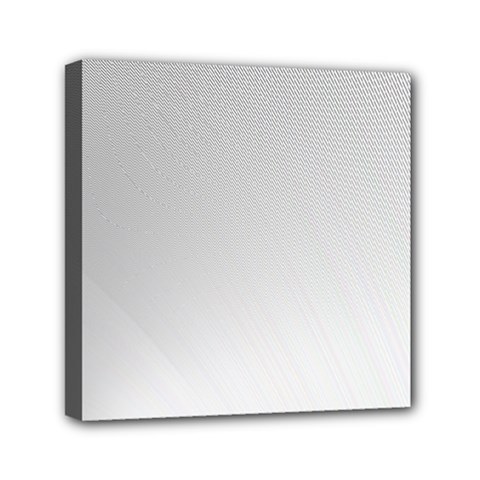 White Background Abstract Light Mini Canvas 6  X 6