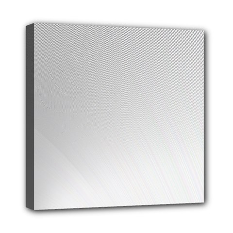 White Background Abstract Light Mini Canvas 8  X 8