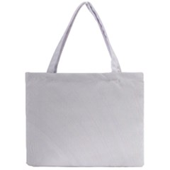 White Background Abstract Light Mini Tote Bag