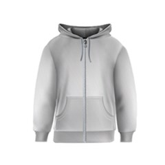 White Background Abstract Light Kids  Zipper Hoodie