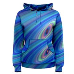 Oval Ellipse Fractal Galaxy Women s Pullover Hoodie