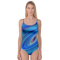 Oval Ellipse Fractal Galaxy Camisole Leotard