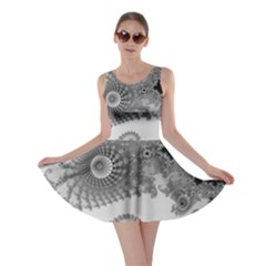 Apple Males Mandelbrot Abstract Skater Dress