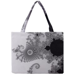Apple Males Mandelbrot Abstract Mini Tote Bag