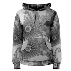 Apple Males Mandelbrot Abstract Women s Pullover Hoodie