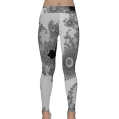 Apple Males Mandelbrot Abstract Classic Yoga Leggings