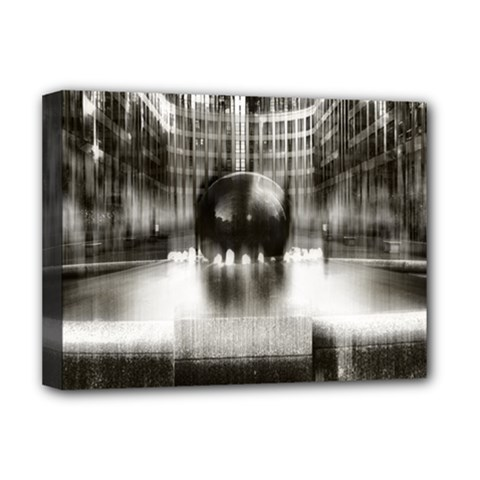Black And White Hdr Spreebogen Deluxe Canvas 16  X 12