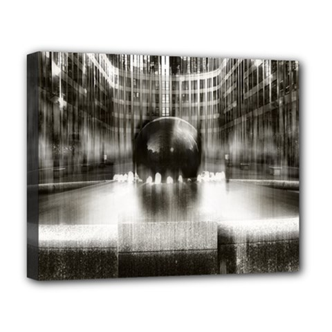 Black And White Hdr Spreebogen Deluxe Canvas 20  X 16