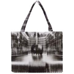 Black And White Hdr Spreebogen Mini Tote Bag
