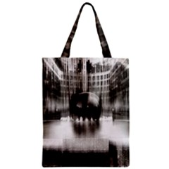 Black And White Hdr Spreebogen Zipper Classic Tote Bag