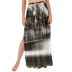 Black And White Hdr Spreebogen Maxi Chiffon Tie Up Sarong