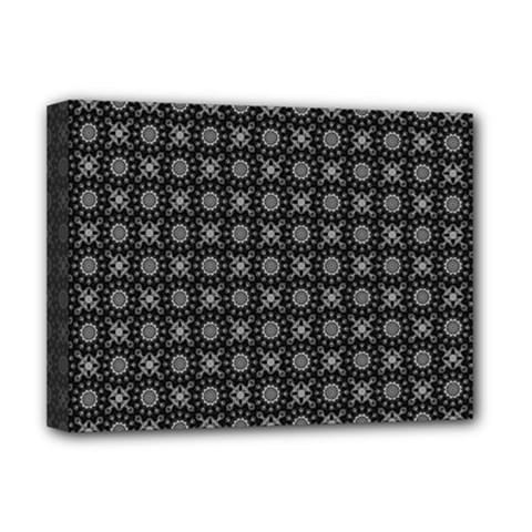Kaleidoscope Seamless Pattern Deluxe Canvas 16  X 12