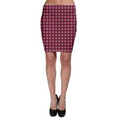 Kaleidoscope Seamless Pattern Bodycon Skirt