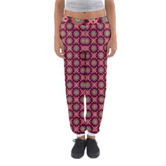 Kaleidoscope Seamless Pattern Women s Jogger Sweatpants