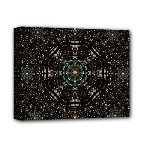 Pearl Stars On A Wonderful Sky Of Star Constellations Deluxe Canvas 14  X 11