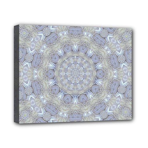 Flower Lace In Decorative Style Canvas 10  X 8